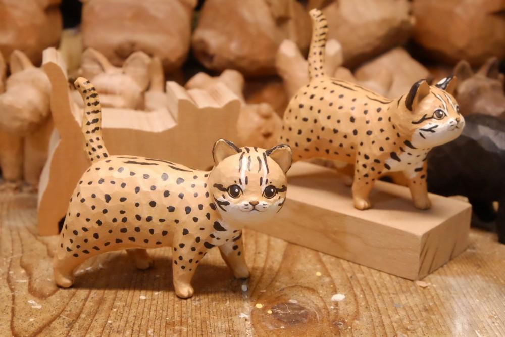 想作室木雕動物