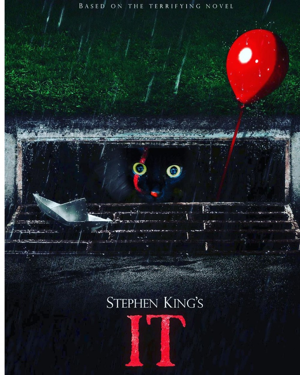 黑喵被酷搜恐怖電影「牠」